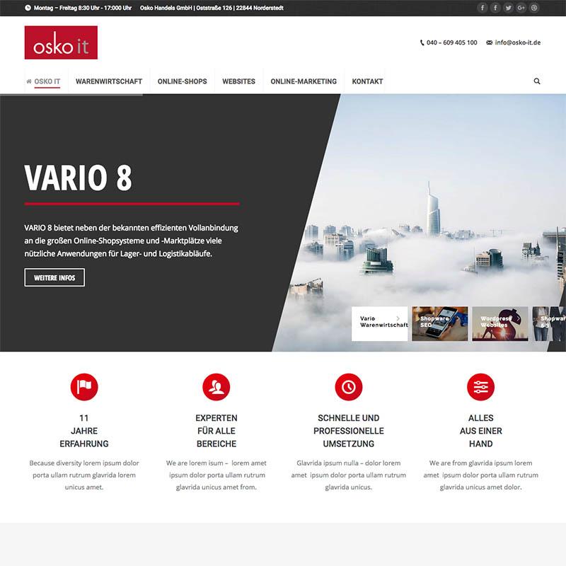 VARIO, Shopware, Suchmaschinenoptimierung, Wartung & Support